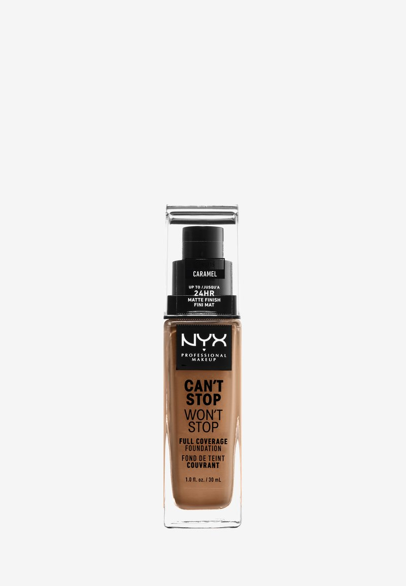 Nyx Professional Makeup - CAN'T STOP WON'T STOP FOUNDATION - Foundation - 15 caramel