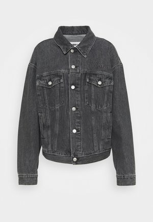 Veste en jean - black stone washed