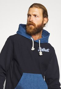 Champion - MLB DETROIT TIGERS HOODED - Pelipaita - dark blue - 3