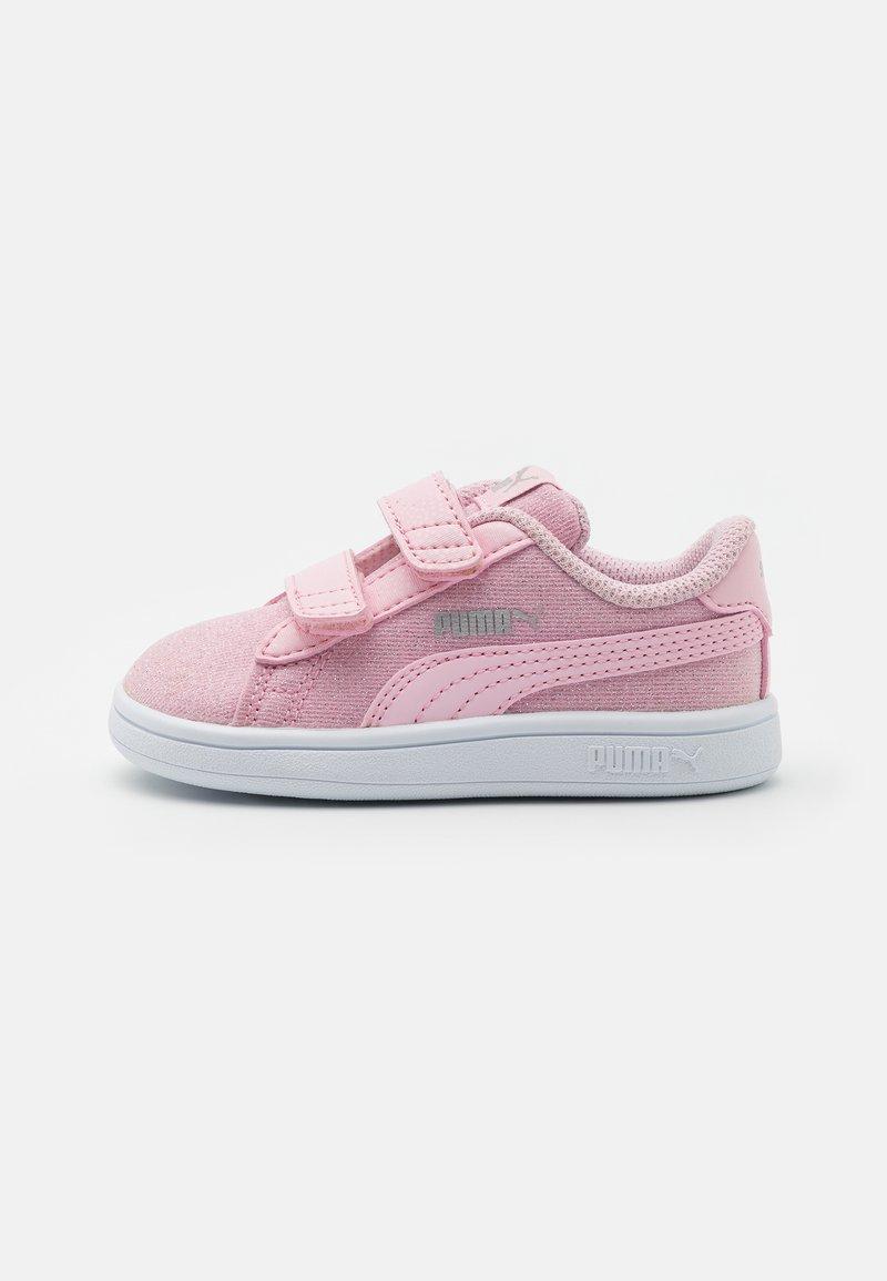 Puma - SMASH GLITZ GLAM - Baskets basses - pink lady