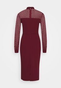 WAL G. - MIDI DRESS - Cocktail dress / Party dress - wine - 1