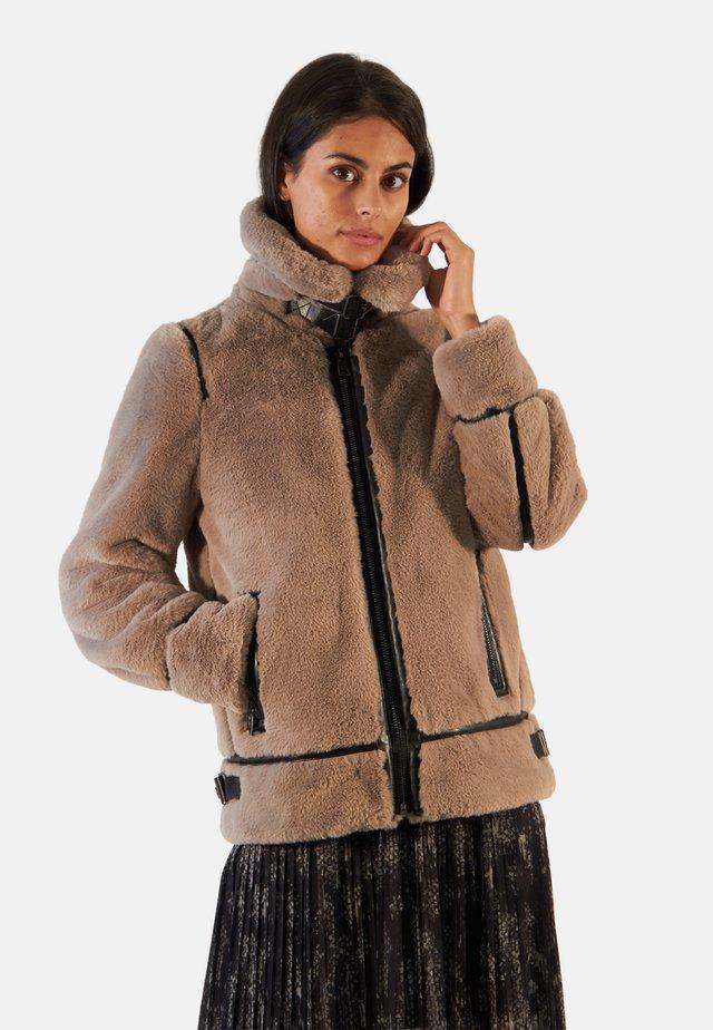 CULTURE - Light jacket - brown