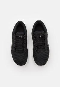 Under Armour - VICTORY - Zapatillas de running neutras - black/jet gray/white - 3