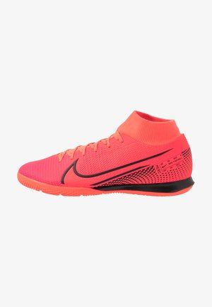 MERCURIAL 7 ACADEMY IC - Indoor football boots - laser crimson/black
