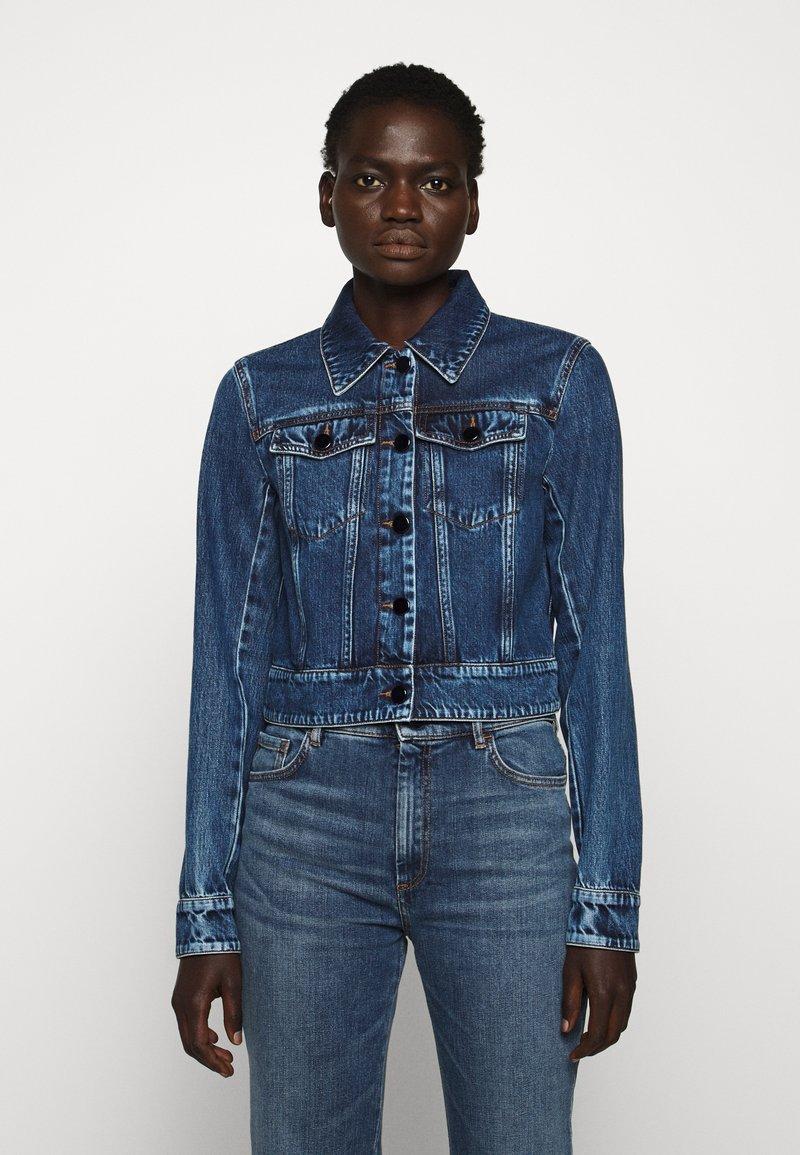 Sportmax Code - FARISCO - Jeansjakke - nachtblau