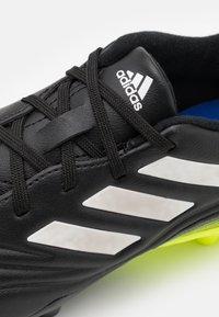 adidas Performance - COPA SENSE.3 FG UNISEX - Moulded stud football boots - core black/footwear white/solar yellow - 5