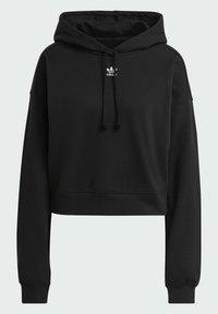 adidas Originals - HOODIE - Jersey con capucha - black - 8