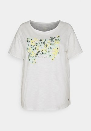 FRONT ARTWORK - Print T-shirt - whisper white