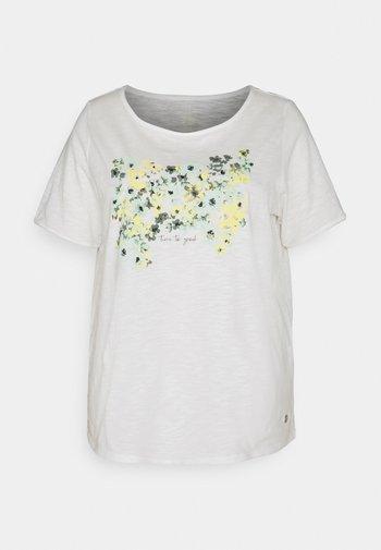 FRONT ARTWORK - Print T-shirt - whisper white