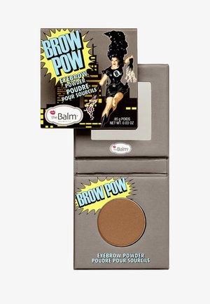 BROW POW EYEBROW POWDER - Augenbrauenpuder - light brown