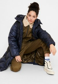 Aigle - FASSIE LONG - Winter coat - bleu marine - 5