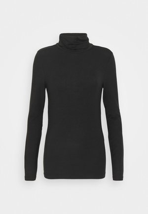 VMAVA LULU ROLLNECK - Long sleeved top - black