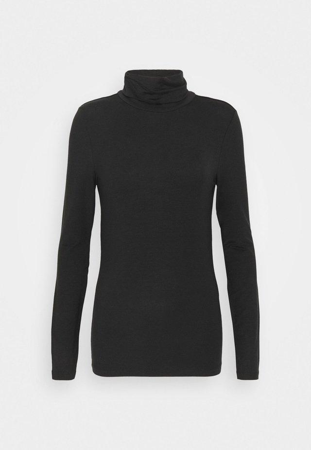 VMAVA LULU ROLLNECK - Maglietta a manica lunga - black