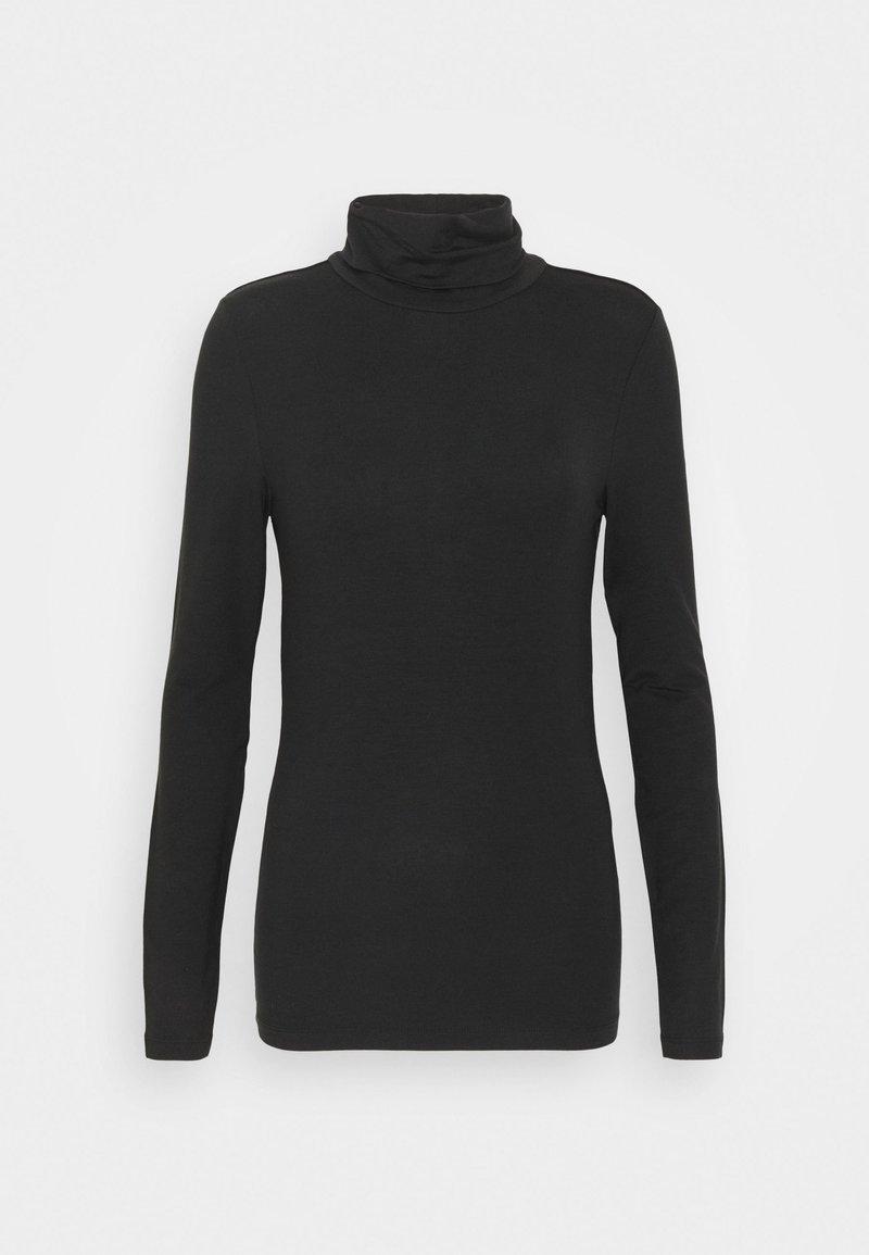 Vero Moda Tall - VMAVA LULU ROLLNECK - Long sleeved top - black