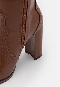 Wallis - PUDDING - High heeled boots - tan - 5