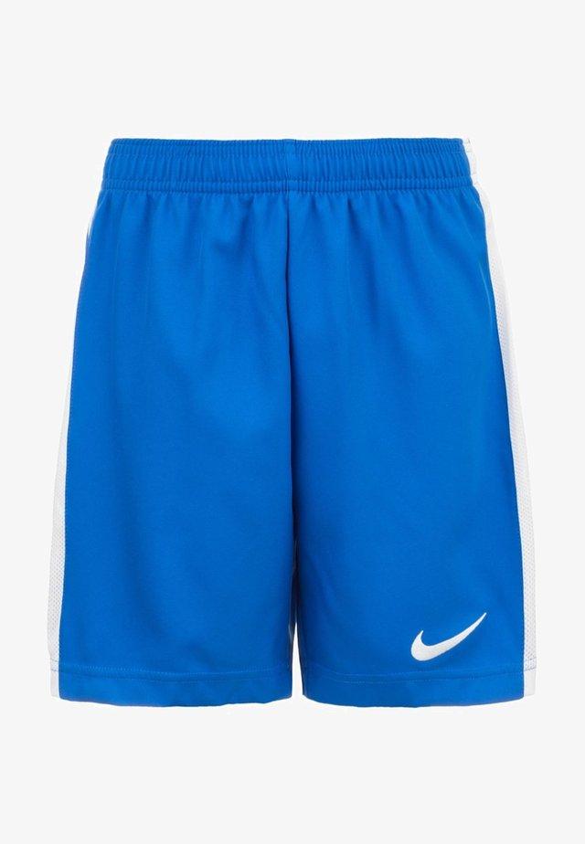 kurze Sporthose - royal blue / white