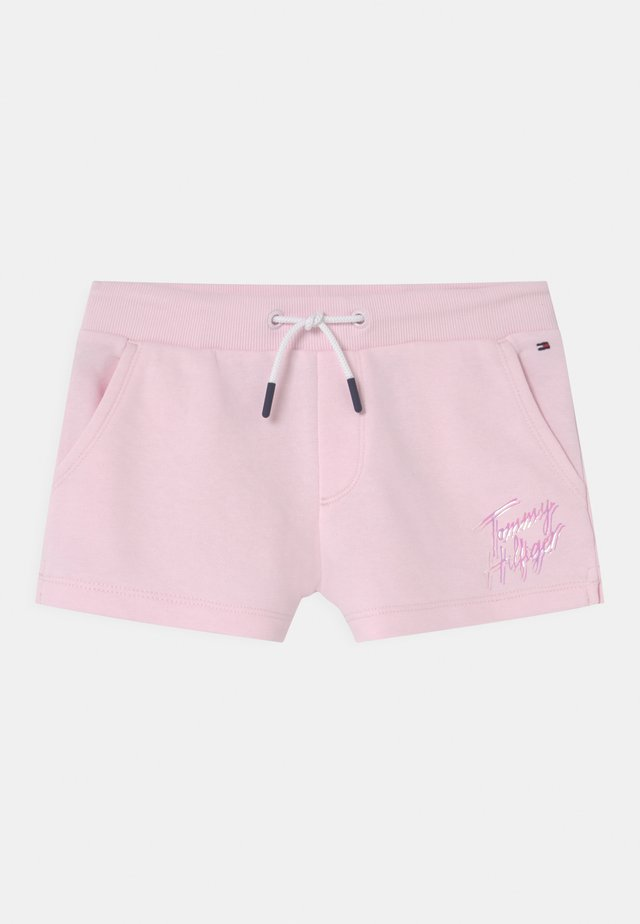 SCRIPT PRINT  - Short - pink breeze