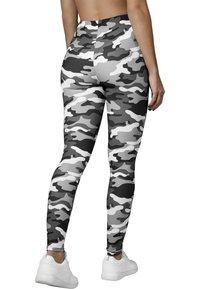 Urban Classics - Leggings - Trousers - snow camo - 1