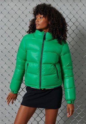 Winter jacket - bright green