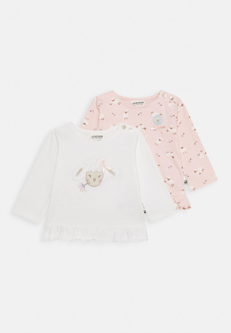 Jacky Baby - FLUFFY & LOVELY 2 PACK - Long sleeved top - light pink