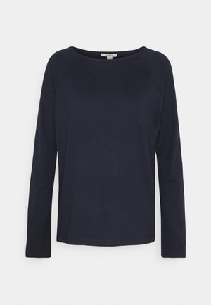 HEAVY TEE - Long sleeved top - navy