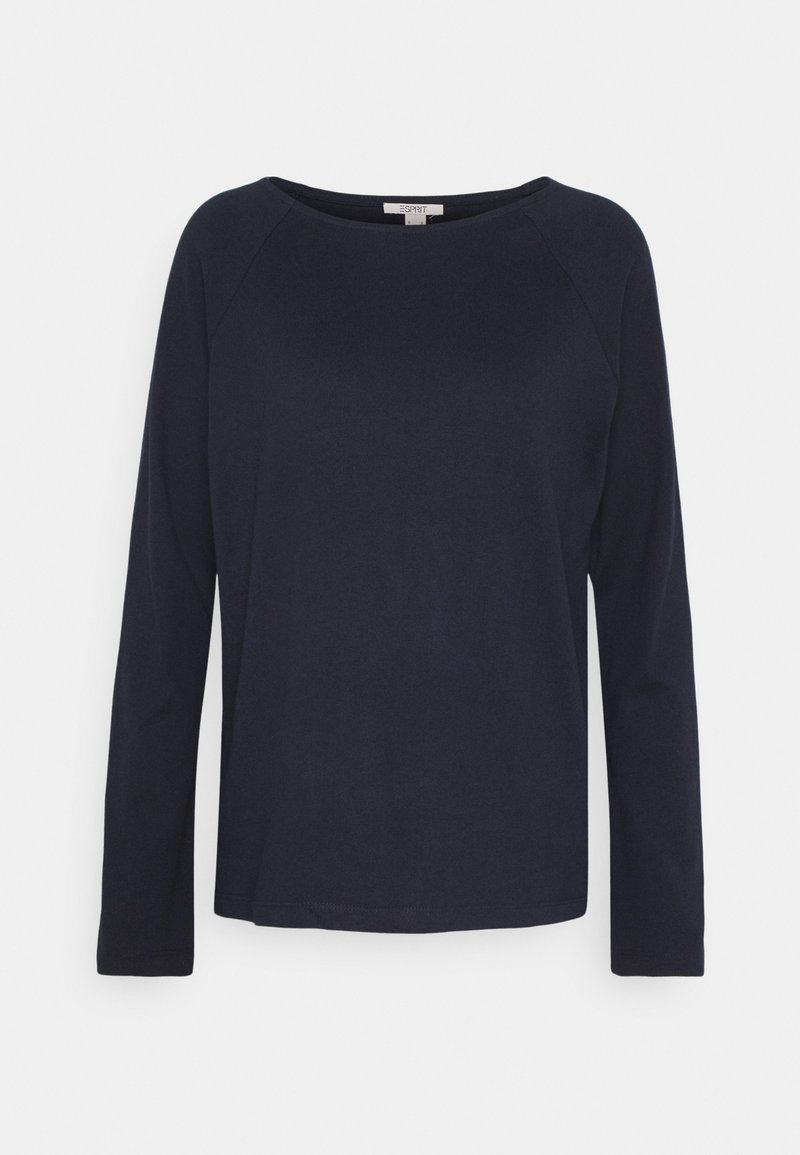 Esprit - HEAVY TEE - Long sleeved top - navy