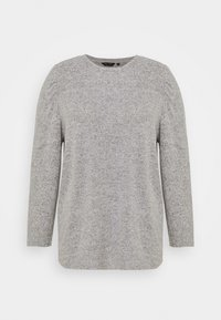 Dorothy Perkins Curve - PUFF SLEEVE - Jumper - grey marl - 3