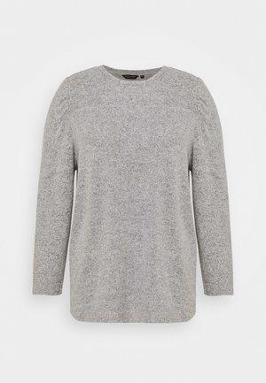PUFF SLEEVE - Jumper - grey marl