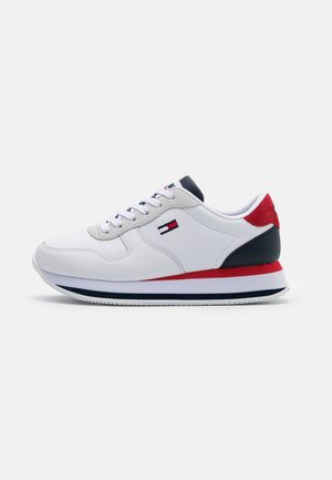 FLATFORM ESSENTIAL RUNNER - Baskets basses - red/white/blue