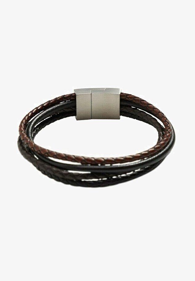 COMBILEA - Bracelet - bruin