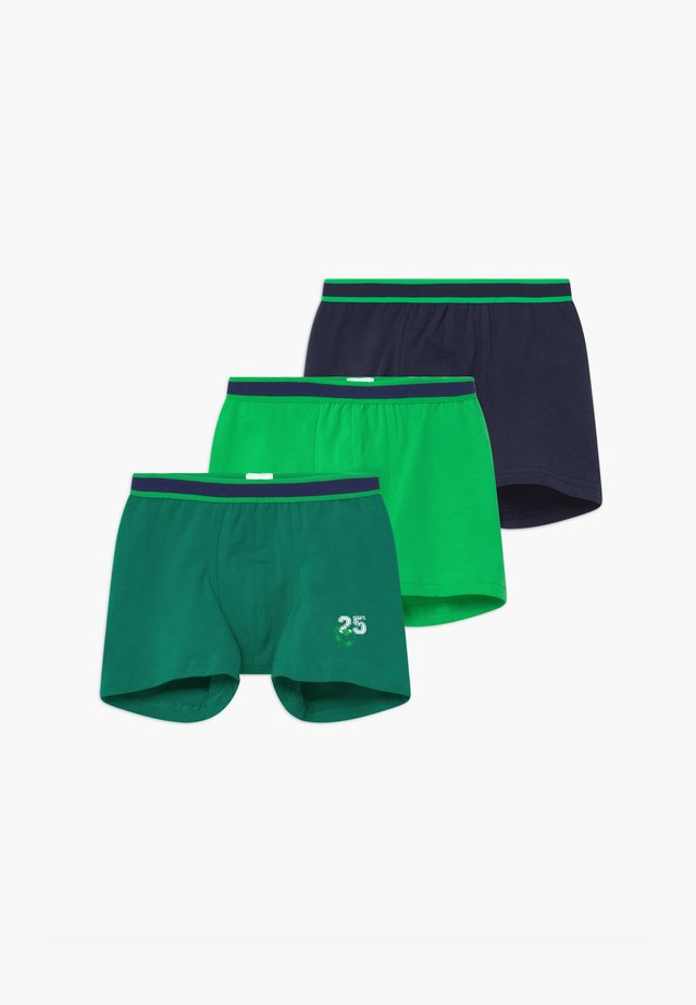 KIDS 3 PACK - Bokserit - green/dark blue