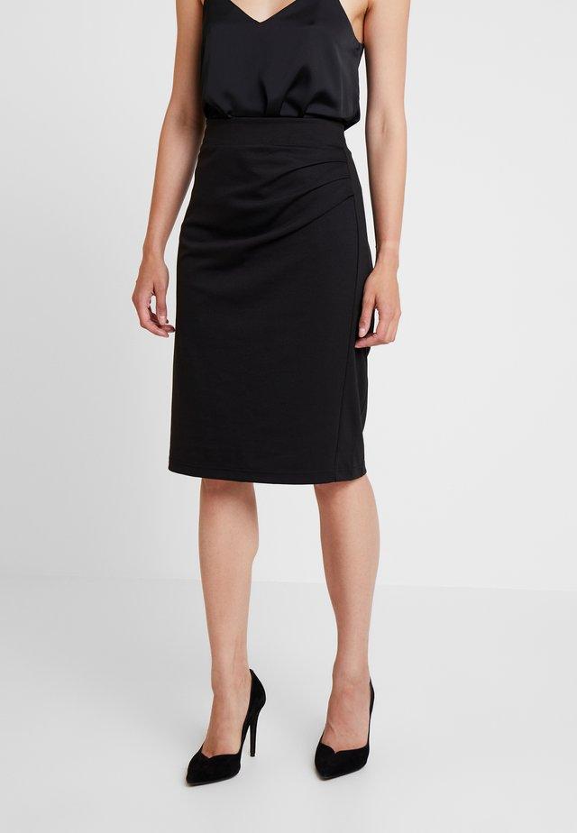 INDIA SKIRT - Pencil skirt - black deep