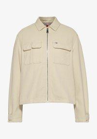 Tommy Jeans - Denim jacket - stein - 0