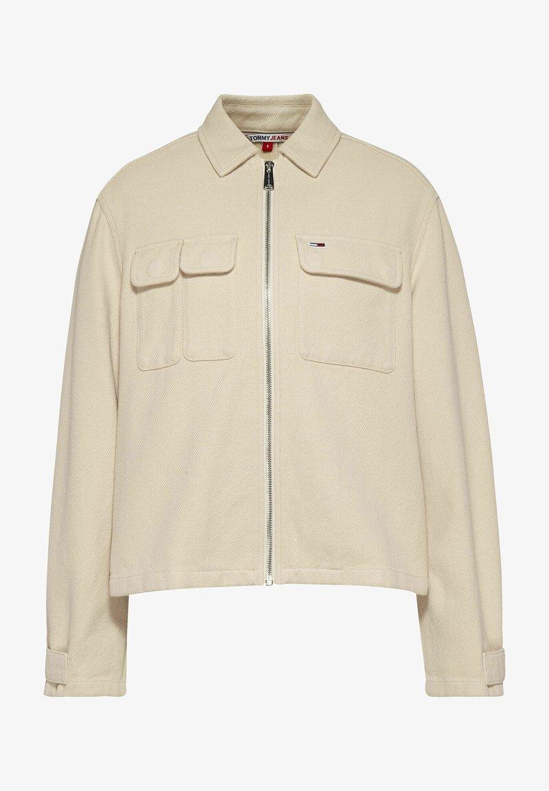 Tommy Jeans - Denim jacket - stein