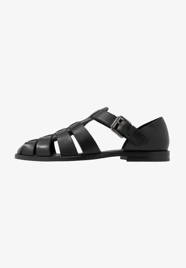 KRISTOF - Mocassins - black