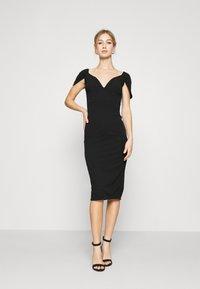WAL G. - MARIANNA DRESS - Společenské šaty - black - 0