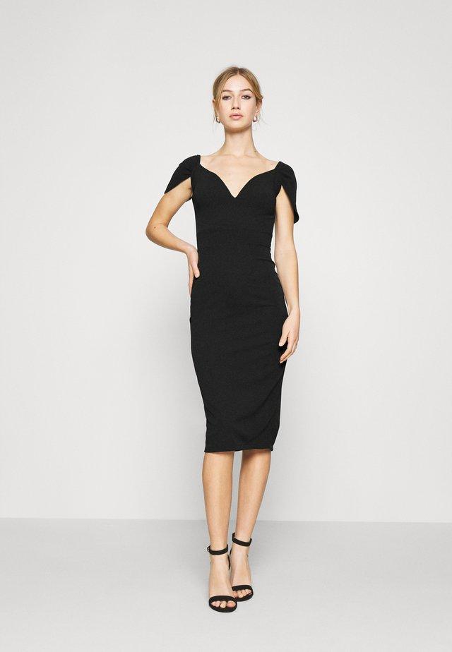 MARIANNA DRESS - Společenské šaty - black