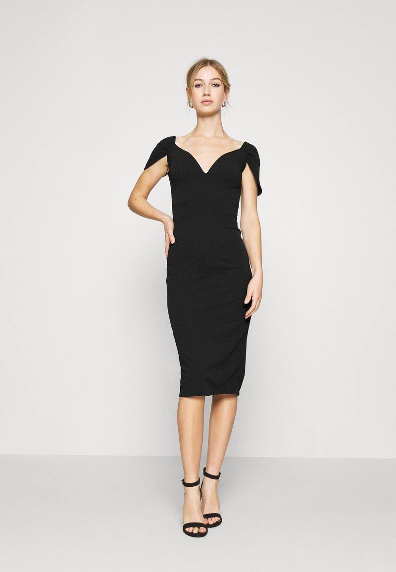 WAL G. - MARIANNA DRESS - Společenské šaty - black