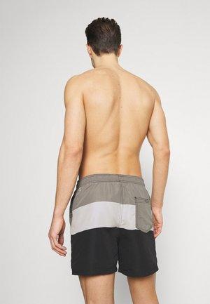 JJIBALI JJSWIM COLORBLOCK - Swimming shorts - black