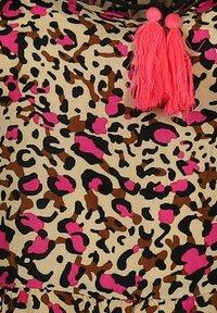Zwillingsherz - Day dress - leo pink braun - 2