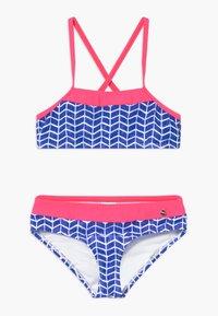 s.Oliver - SET - Bikini - blue/white - 0