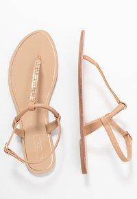 ONLY SHOES - ONLMARGIT SPLIT TOE  - Flip Flops - nude - 2