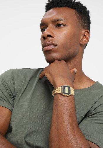 COLLECTION RETRO - Digital watch - goldfarben
