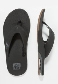 Reef - FANNING LOW - Infradito - black - 1