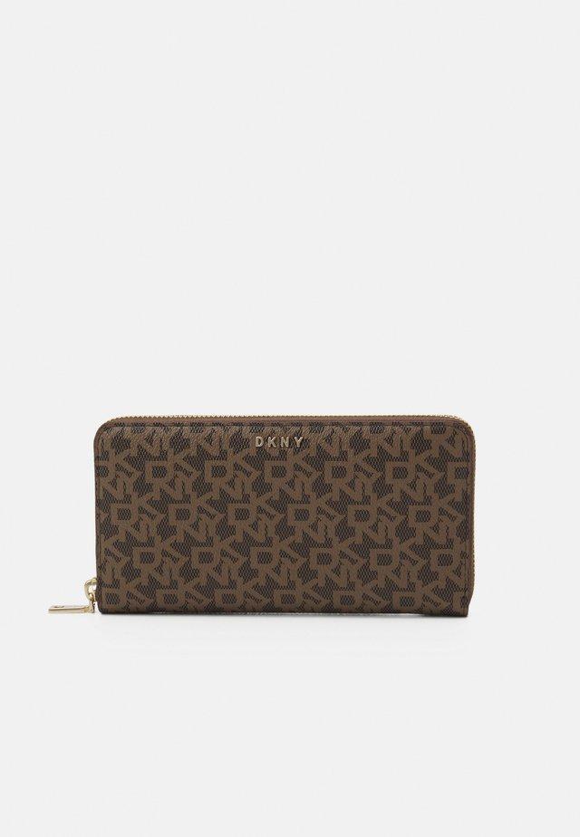 BRYANT ZIP AROUND LOGO - Wallet - mocha/caramel