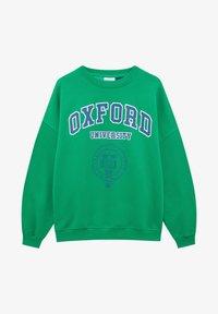 PULL&BEAR - OXFORD - Sweatshirt - green - 4