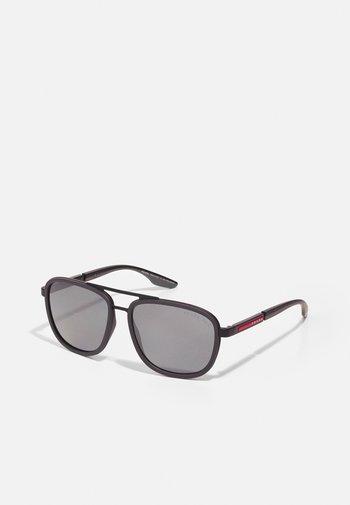 Sunglasses - matte black/grey