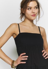 Seafolly - SAFARI SPOT-TIERED DRESS - Kjole - black - 4