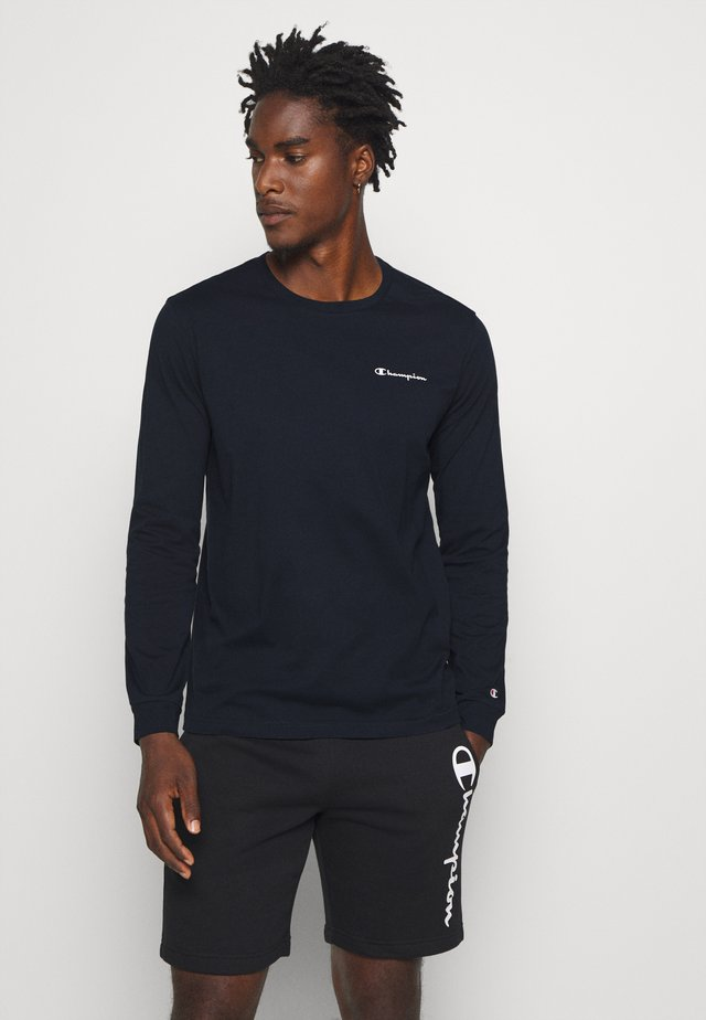 LEGACY LONG SLEEVE CREWNECK - Long sleeved top - navy