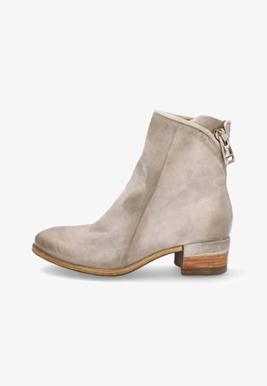 Cowboy/biker ankle boot - grigio